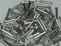 "100 x Rivets 1/8"" Diameter Monel Solid CSK Length: 3/4"" Part SP87-412 [A7]"